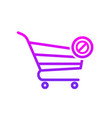 buy cart clear shop store icon vector image vector image