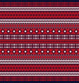 christmas ethnic seamless patterns aztec vector image