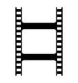 film clip black silhouette icon vector image