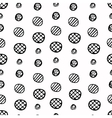 Seamless pattern with hand drawn circles eps10 vector image vector image