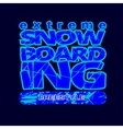 skateboarding t-shirt typography vector image
