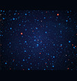 sky with stars vector image vector image