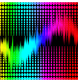 abstract background with spectrum vector image