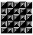 Geometric pyramid seamless background vector image
