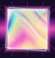 80s background banner flyer poster retro vector image
