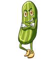 A cucumber vector image