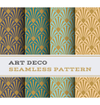 Art Deco seamless pattern 17 vector image vector image