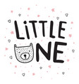 little one bear vector image vector image