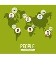 People icon design vector image vector image