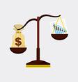 stock exchange vector image vector image
