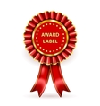 Award Label vector image