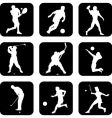 ball sport icons vector image vector image