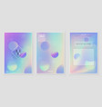 blurred background abstract smooth light colors vector image vector image