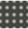 dotted monochrome geometric seamless pattern vector image vector image