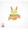Easter logo vector image
