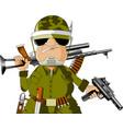 enemy vector image vector image