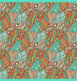 ethnic seamless pattern fabric background for vector image vector image