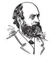 henry george vintage vector image vector image