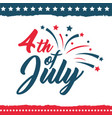independence day of the united states poster set vector image vector image