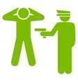 Arrest icon from Business Bicolor Set