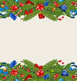 Christmas elegance background with holiday vector image