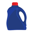 Cleaner bottle icon vector image vector image