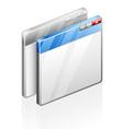 computer windows vector image vector image