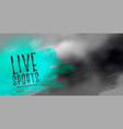 live sports abstract background with dark clouds