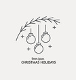 New Year Logo vector image vector image