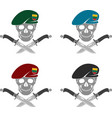 set of sign of special forces of lithuania vector image vector image