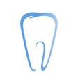 Sign of tooth vector image vector image