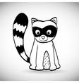 Skunk icon design vector image