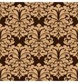 Vintage floral seamless pattern background vector image vector image
