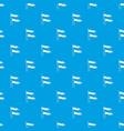 ancient battle flags pattern seamless blue vector image