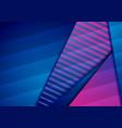 blue violet hi-tech geometric background vector image vector image