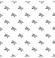 Cedar pattern simple style vector image vector image