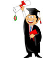 college student vector image