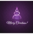 greetings with Christmas vector image vector image