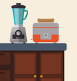 Home appliance design vector image vector image