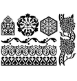 islamic design elements vector image