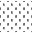 seamless pattern grunge brush strokes vector image vector image
