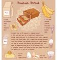 sliced banana bread recipe