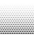 Triangular halftone grid gradient seamless vector image