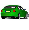 al 0434 car sedan vector image vector image