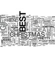 best gift idea text word cloud concept vector image vector image