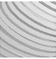 black halftone background with arcs vector image