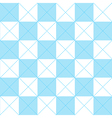 Blue White Chess Board Diamond Background vector image vector image