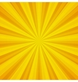 Colored Pop Art yellow background vector image vector image
