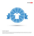 cotton t-shirt icon vector image vector image