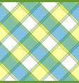 tablecloth check fabric texture seamless pattern vector image vector image